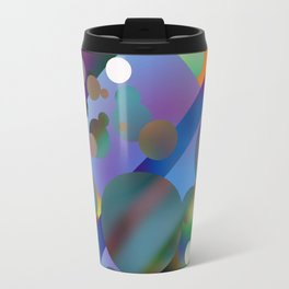 Rainbow bubbles Travel Mug
