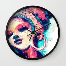 Portrait 151 Wall Clock