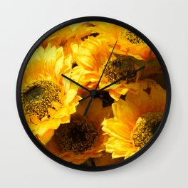 sunflower for home decor Wall Clock
