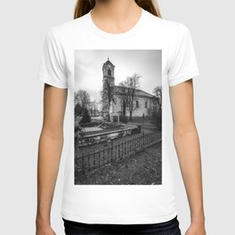Streets of Piliscsaba - Hungary T-shirt