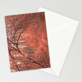 Forest Arch Trail - Salmon Pink Stationery Cards