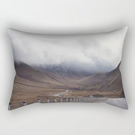 Roadtripping around New Zealand's South Island, Under a Thick Layer of Cloud Rectangular Pillow