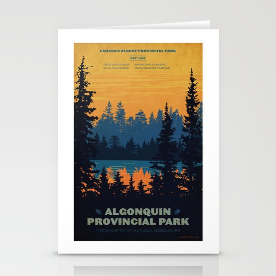 Algonquin Park Poster by cameronstevens