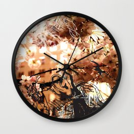 Evanescent Encounter Wall Clock