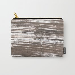 Umber abstract watercolor background Carry-All Pouch