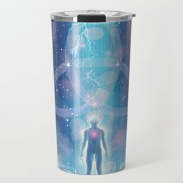 """A Spark of the Creator!"" - Trinity Travel Mug"