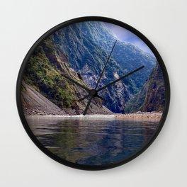 Manas River - Bhutan Wall Clock