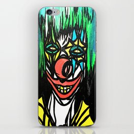 Creepy Clown iPhone Skin