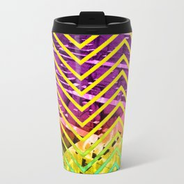 Chevron Scape Travel Mug