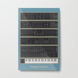 Moog Modular Metal Print