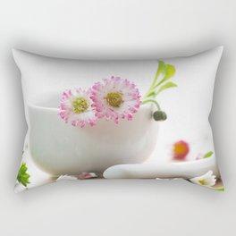 Wild herb kitchen Daisy Rectangular Pillow