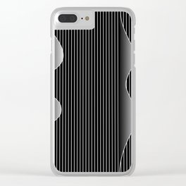 night waves Clear iPhone Case