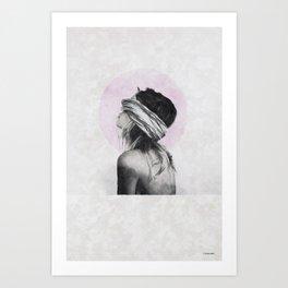 Blind trust ... Art Print