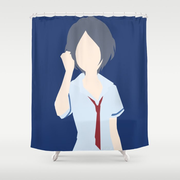 Kanade Hayami The Idolmaster Cinderella Girls Shower Curtain By Elnisi