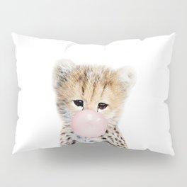 Bubble Gum Cheetah Cub Pillow Sham