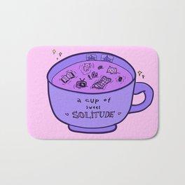 Cup of Solitude Bath Mat