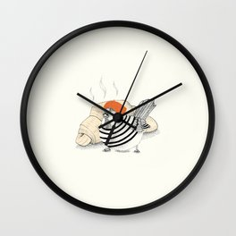 Voulez-vous manger avec moi? Wall Clock