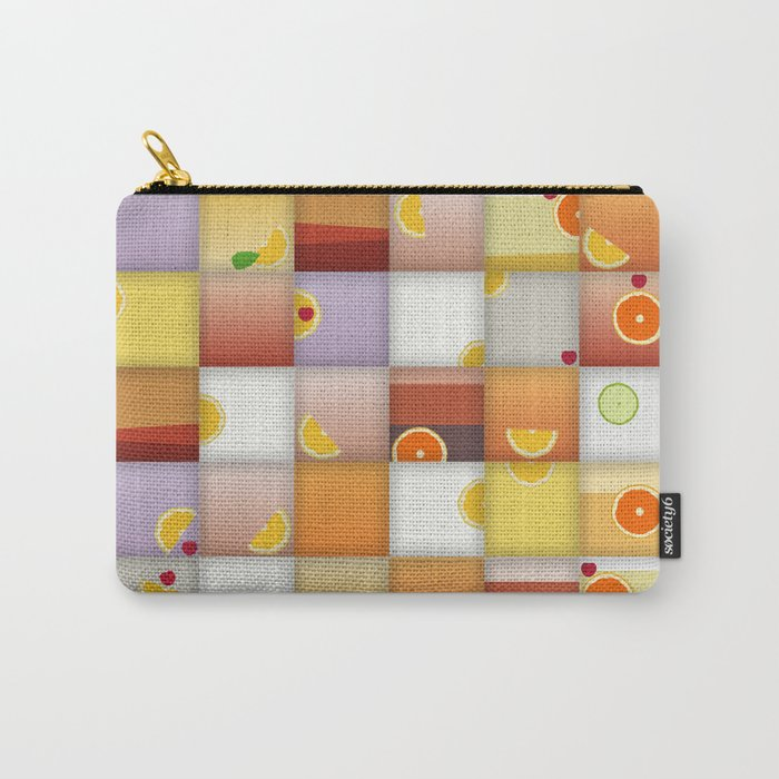 cocktail squares Carry-All Pouch