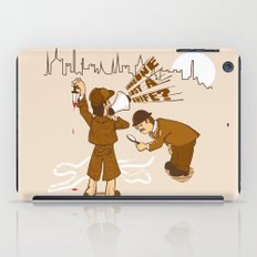 The worst Detective EVER iPad Case
