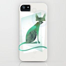 Mid-Century Feline iPhone Case