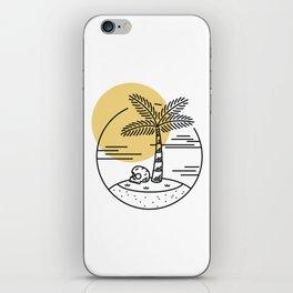 Spring Break Island - Day iPhone Skin