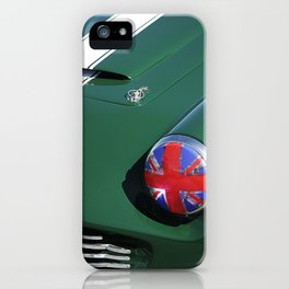 Union Jack Headlight iPhone Case