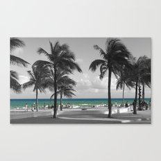 Miami Beach Florida Ocean Canvas Print