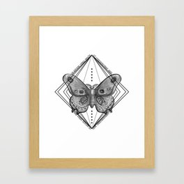Enter the Circle Framed Art Print