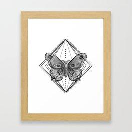 Enter the Circle Framed Art Print