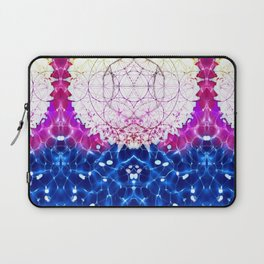 Flower of Life - Fractal Image Laptop Sleeve