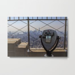 Manhattan View Metal Print
