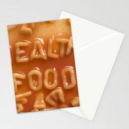 Alphabet Spaghetti Stationery Cards