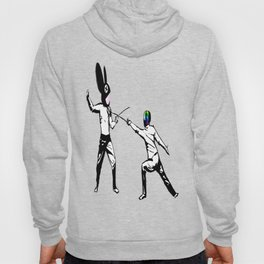 music battle fencing Hoody