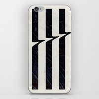 glitch iPhone & iPod Skins featuring Glitch by Chad De Gris