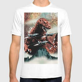 Godzilla Cover Art G-Fan Magazine T-shirt