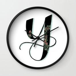 yew Wall Clock
