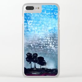 Written in the Stars Clear iPhone Case