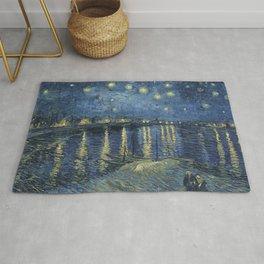 Vincent Van Gogh - Starry Night on the Rhone Rug