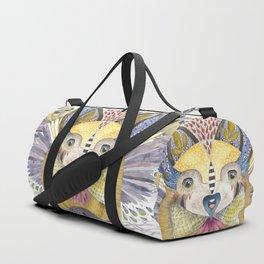 Weird Howl Nesting Duffle Bag