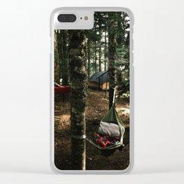 Hammocking Clear iPhone Case