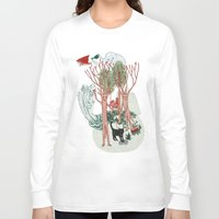 insects Long Sleeve T-shirts featuring A Stick-Insects Dream by Mirisch