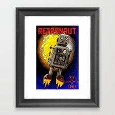 :: RETRONAUT Framed Art Print