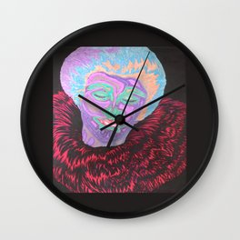 Clownin' Around at the Rose Room Wall Clock