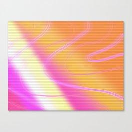 loud vibrantness Canvas Print