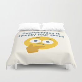Leave Dwell Enough Alone Duvet Cover