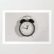 Time Stood Still Art Print