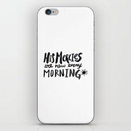 Mercy Morning iPhone Skin