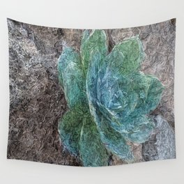 Green Beauty Wall Tapestry
