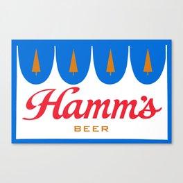HAMM'S 1 Canvas Print