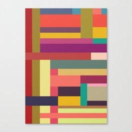 Color Rods 4 Canvas Print